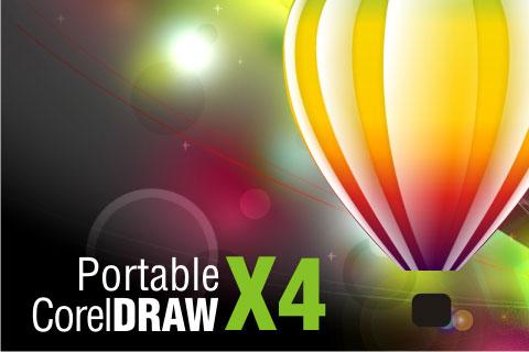 Download Corel Draw X4 Portable, Corel Draw X5 Portable, Adobe Illustrator CS3 Portable, Adobe Photoshop CS6 Portable